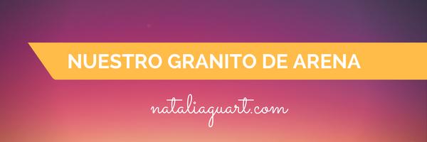 Nuestro granito de arena banner Natalia Guart
